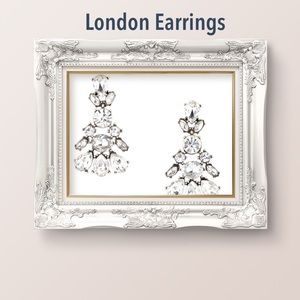 London Crystal Earrings